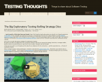 The big exploratory testing defocusing dice